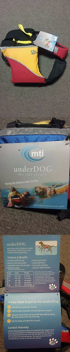 Safety Vests and Life Preservers 117427: Dog Life Vest - Mti Extra- Large -> BUY IT NOW ONLY: $39 on eBay!