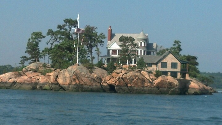 Islands off of Guilford, CT