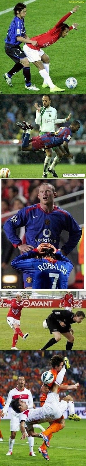 Top 10 Perfectly Timed Funny Photos ft. Footballs