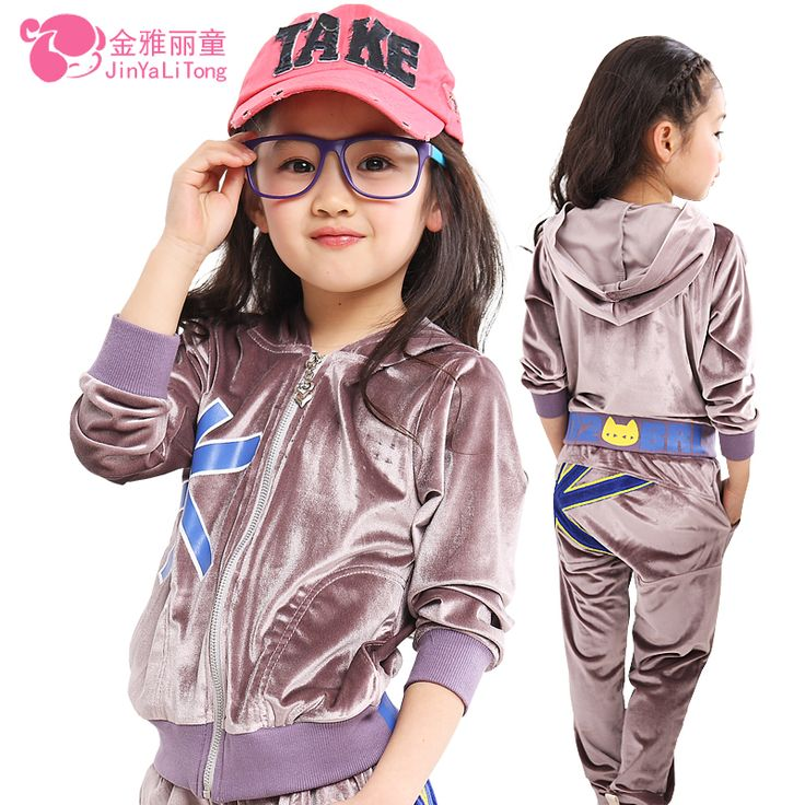 Cheap Clothing Sets on Sale at Bargain Price, Buy Quality clothing velour, clothing carnival, clothing america from China clothing velour Suppliers at Aliexpress.com:1,Item Type:Sets 2,With or without a hood:irremovable hood 3,Gender:Girls 4,Department Name:Children 5,Style:Casual