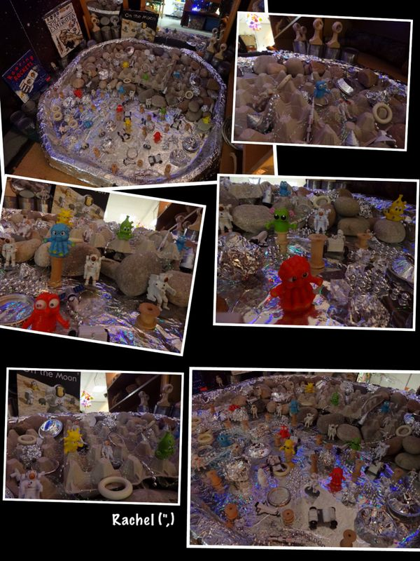 """""""Aliens on the Moon"""" Small World Play (from Stimulating Learning with Rachel)"""