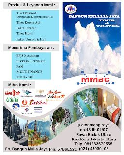 BANGUN MULIA JAYA TOUR N TRAVEL: BANGUN MULIA JAYA TOUR N TRAVEL: