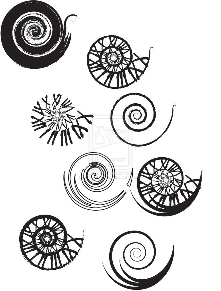 Clockwork Spiral Tattoo Designs by ~UrbanManitou on deviantART a small one of the numerals would be awsome!