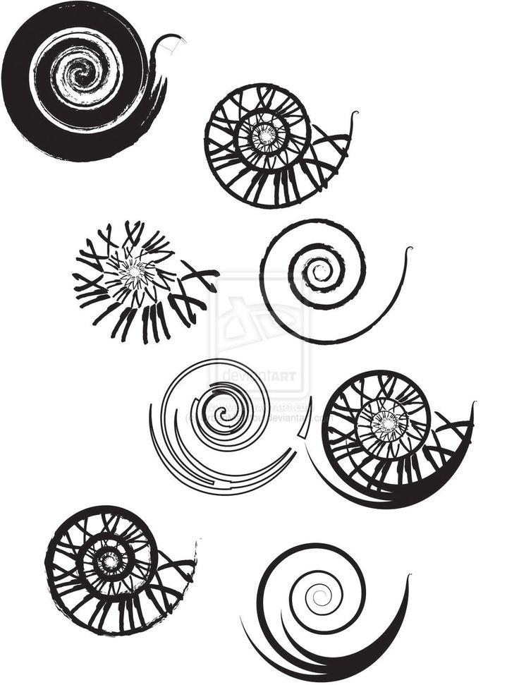 Clockwork Spiral Tattoo Designs by ~UrbanManitou on deviantART