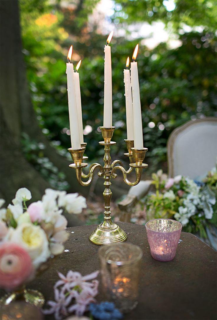 Best gold candelabra ideas on pinterest