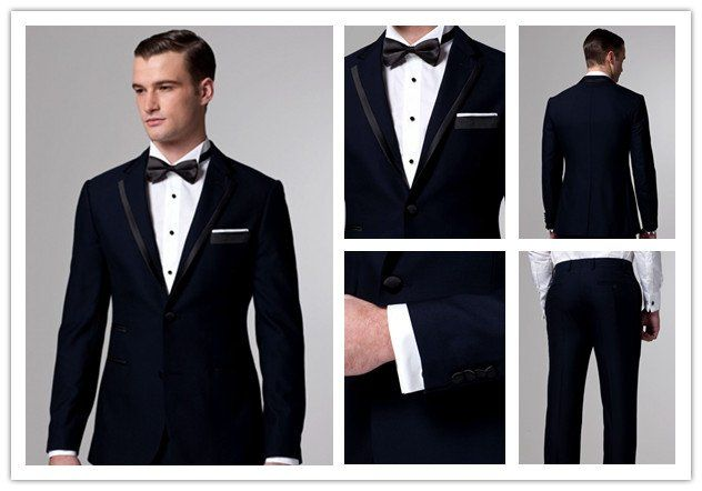 free shipping free shirt free bow free vest groomsmen attire with Single Breasted 2 Buttons mens wedding suit NO.0092-in Tuxedos from Apparel & Accessories on Aliexpress.com