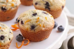 Blueberry Orange Muffins- These muffins are must-bakes for blueberry season. With a sweet orange twist, they taste just like a beautiful spring day.