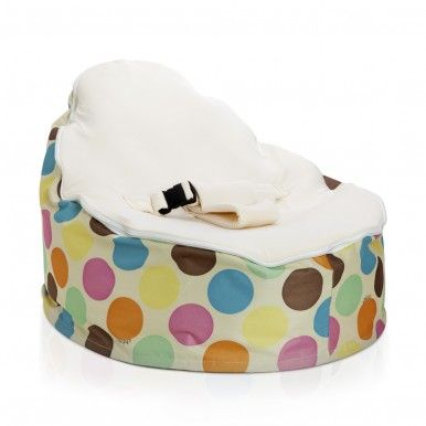 The most loved collection baby beanbag is our Serendipity baby bean bag. Comes in three colours, Cream, pink and blue.