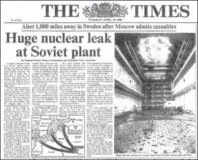 Chernobyl: the true scale of the accident