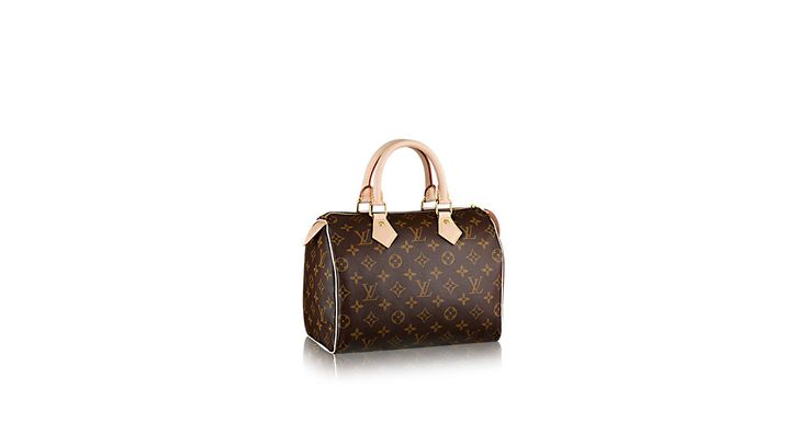 Discover Louis Vuitton Speedy 25: An icon of our times, this city bag is ideal for the fast pace of modern life. Wherever you need to go, the Speedy 25 makes zipping around town a pleasure. Looks great in Monogram canvas.