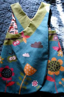 Toddler Pinafore Tutorial Sewing Instructions