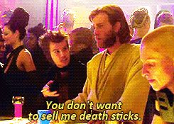"""Ewwwwww, not even if you weren't a total creep."" | 23 Times Obi Wan Kenobi Was 1,000% Done"