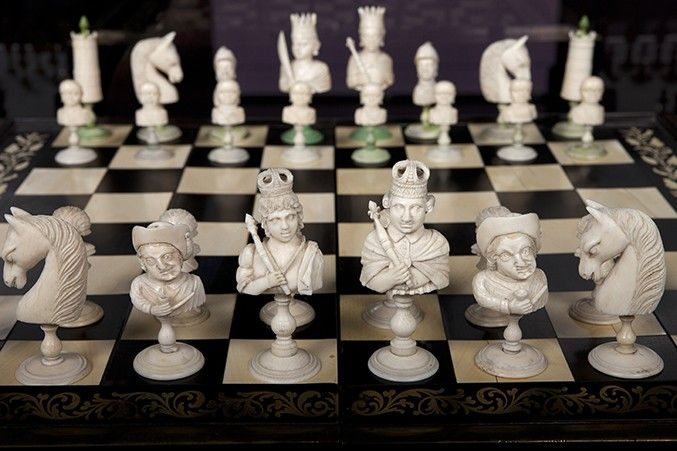 Prized and Played: Highlights from the Jon Crumiller Collection | World Chess Hall of Fame