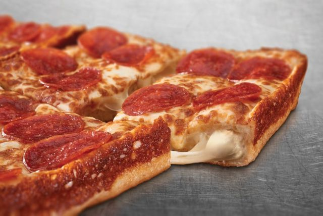 Little Caesars Rolls Out New Stuffed Crust Deep Dish Pizza | Brand Eating