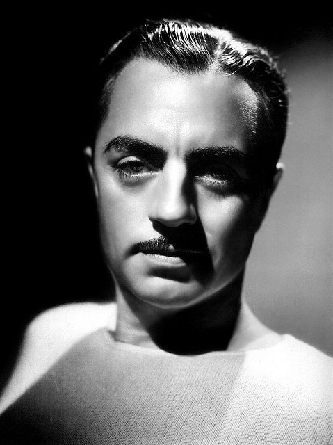 William Powell - by George Hurrell 1935 by megaeralorenz, via Flickr