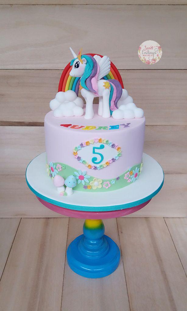 Princess Celestia cake!