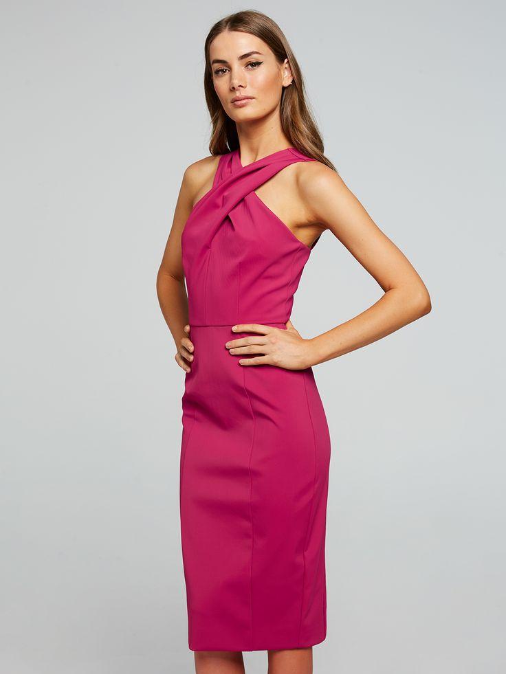 Shadow Dancer Halter Dress, Portmans $129.95    http://www.shopyou.com.au/ #womensfashion #shopyoustyle