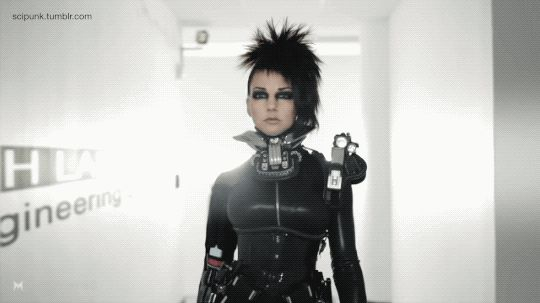 Yelena Federova goes upstairs. Deus Ex - Human Revolution - Short. -   Cyberpunk & Neon Lights