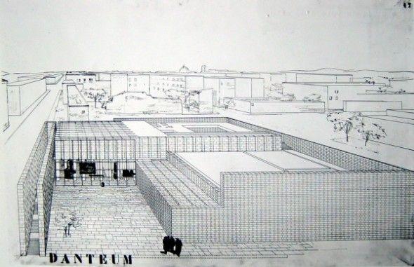 Giuseppe Terragni   Danteum   1938