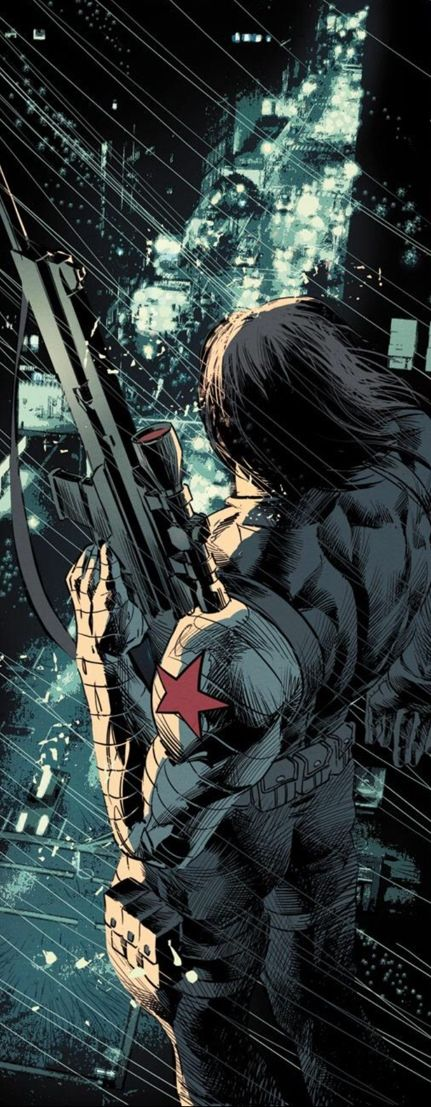 Winter Soldier by Mike Deodato Jr
