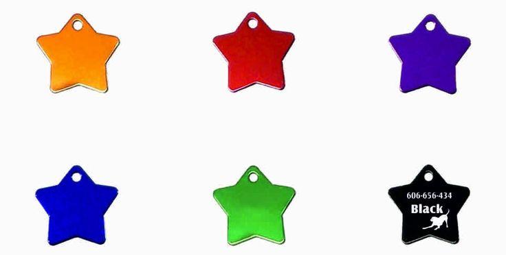 Identyfikator dla zwierząt - gwiazda (grawer, IZGA2) :: NANA
