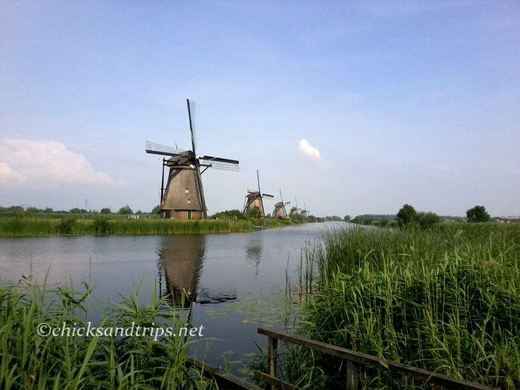 I mulini a vento di Kinderdijk - Olanda