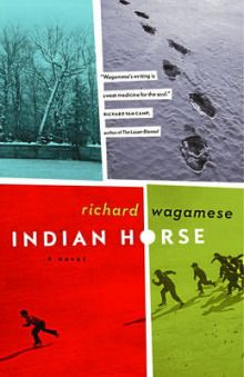 Richard Wagamese's newest book. Very, very good. Story of a young boy who spends most of his childhood years in a residential school. Learns to play hockey and it changes the direction of his life.