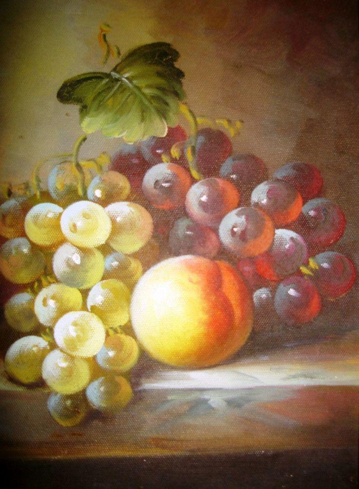 frutas al oleo - Buscar con Google