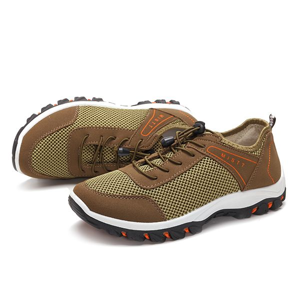 Men Breathable Mesh Climbing Hiking Outdoor Athletic Shoes