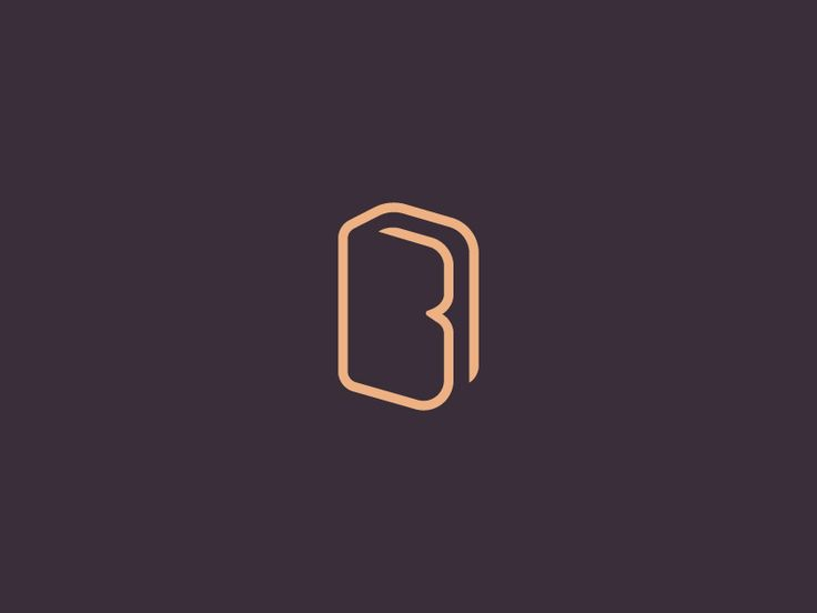 Unused logo proposal for a bookstore. I tried to combine a book and a letter B. Have you seen something similar to this that already exists?