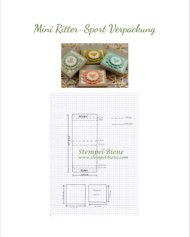 Mini Ritter Sport - Verpackung