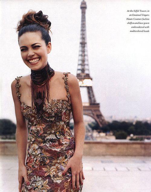 "Loving this look! ""Paris Match"", In Style US, November 1999, Amelia Heinle by Matthew Rolston"