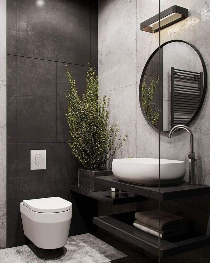 Updating Your Bathroom On A Budget House Renovation Malaysia Blog Old House R Industrial Bathroom Design Industrial Style Bathroom Bathroom Remodel Designs