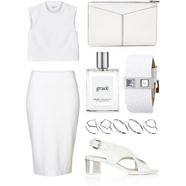 """Look 3 - 'Grace'"" by splashthestyle on Polyvore polyvore, fashion set, fashion, ootd, collage, minimal, outfit"