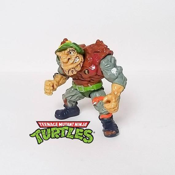 *** Teenage Mutant Ninja Turtles TMNT 1989 ORIGINALE *** generale traag 1