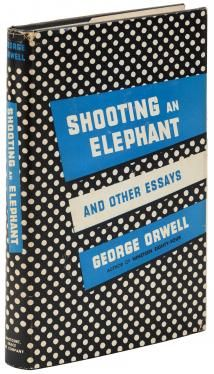 orwell shooting an elephant and other essays about love