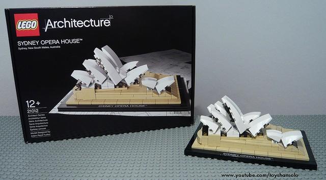 LEGO Architecture Sydney Opera House 21012, via Flickr.