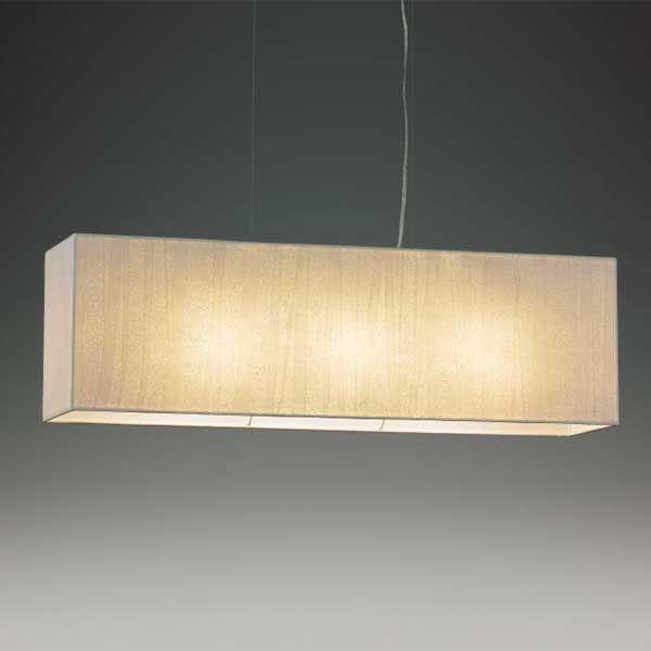 和風照明モダン和風ペンダント照明レース和紙模様ランプ横長方形 木成 LEDランプ照明 XRP6039W