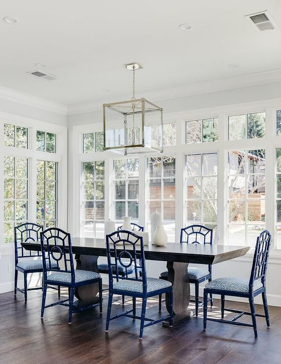 1000+ Ideas About Blue Dining Tables On Pinterest