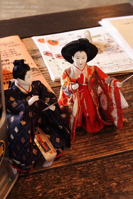 Japanese Hina dolls