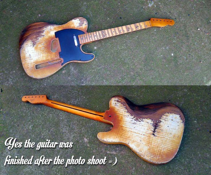 MXKT Custom Guitars: Sold Guitars