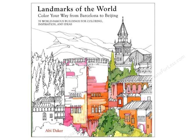 Lark Landmarks Of The World Coloring Book Color Landmark Affiliate Coloring Books World Famous Buildings Landmarks