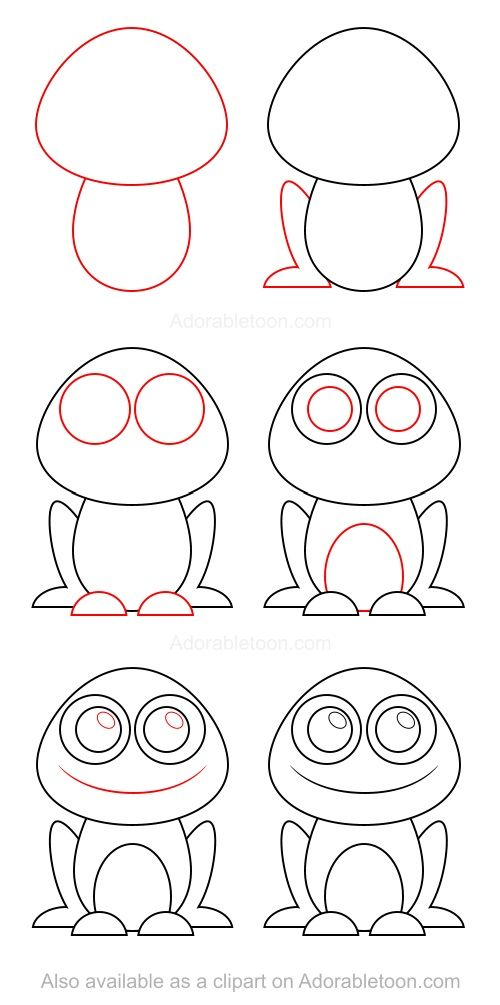 828 best alexia images on Pinterest Easy designs to draw, Easy - apprendre a dessiner une maison