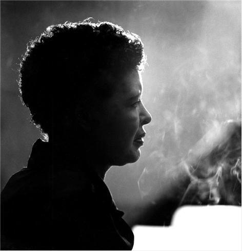 Herman Leonard     Billie Holiday, New York City      1955