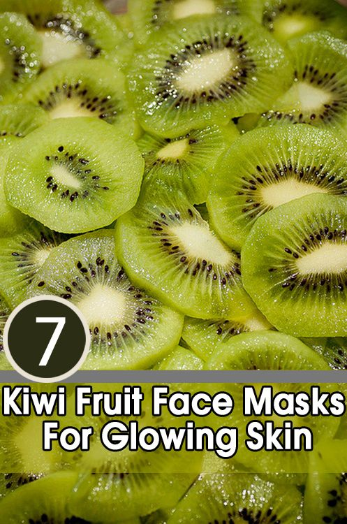 Kiwi Fruit Face Masks For Glowing Skin - Finely chop the fruit (or use the readymade pulp) and mix it with a tablespoon of yoghurt. Apply the paste on your face for 15-20 minutes and wash off with warm water for getting glowing skin.