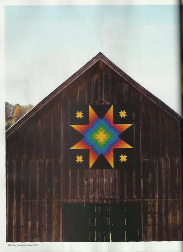 barn quilt patterns | cooper s barn with it s colorful quilt pattern was highlighted in the ...
