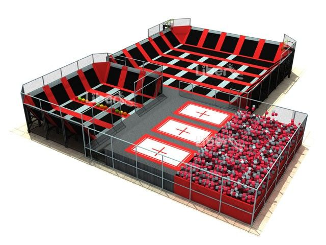 China Leading High Quality Trampoline Park Supplier