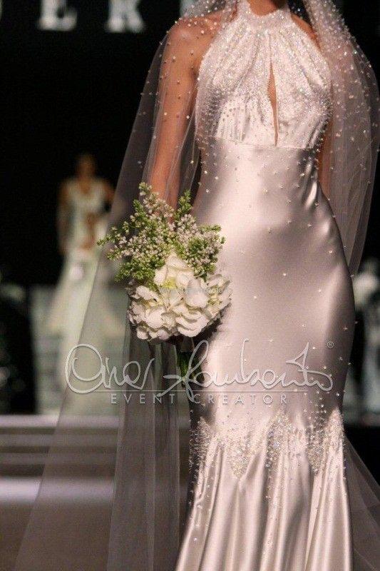 Atelier Anna Guerrini abito da sposa anni 30 dettaglio