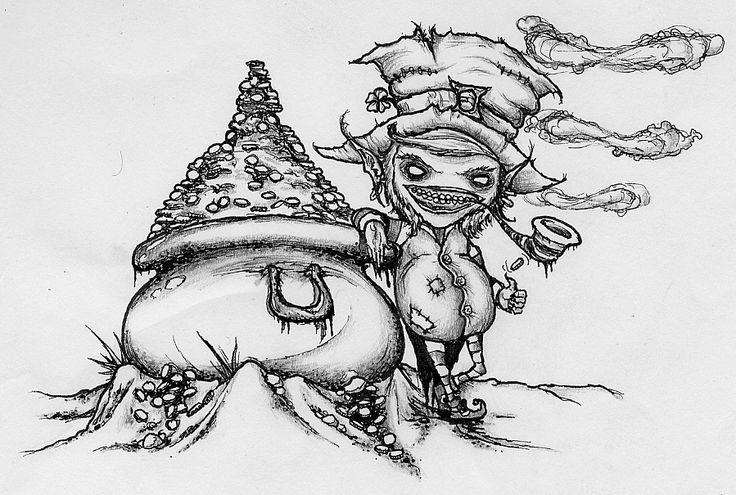 Evil Cartoon Tattoos Leprechaun Tattoos Designs And Ideas : Page 6