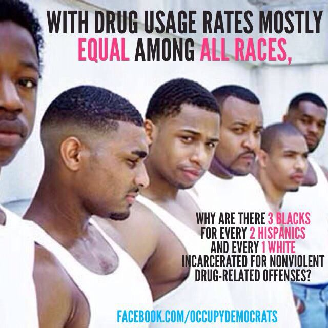 Image result for statistics of white and black people incarcerated